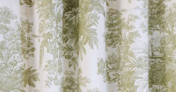 ...   Home Decorating   Pinterest   Toile, Shower Curtains and Curtains