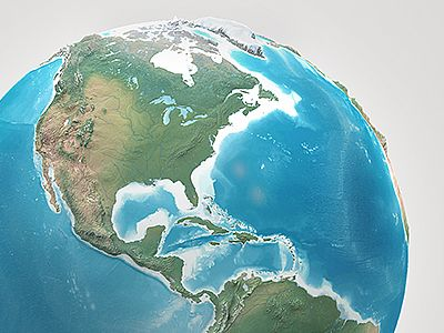 Planet Earth Realistic 3d World Globe 3d World Globe Globe Drawing Planets Wallpaper