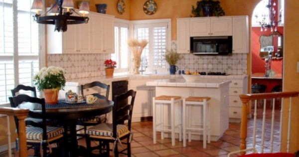 Terra Cotta White Kitchen Pinterest Design Interiors And Kitchens