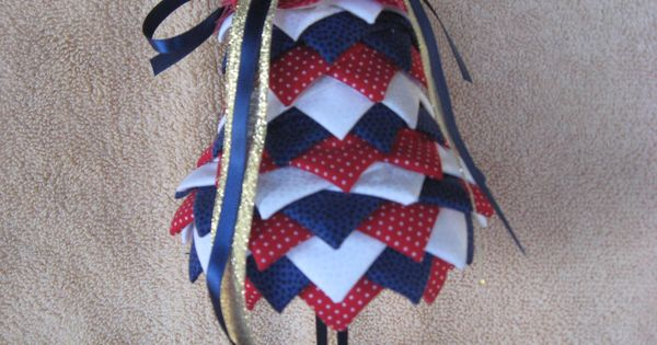 No Sew Bell Christmas Ornaments These Handmade Holiday