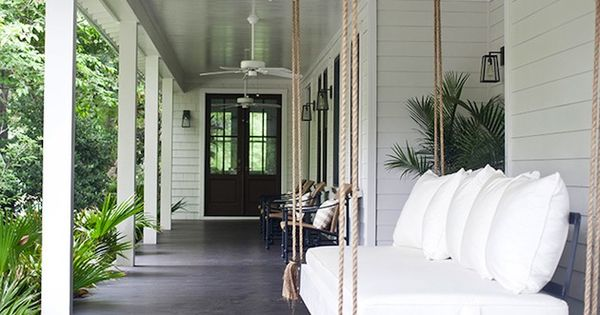 I Need That Swing In My Life Mt Pleasant Sc Bungalow Interior Design By Jenn Langston