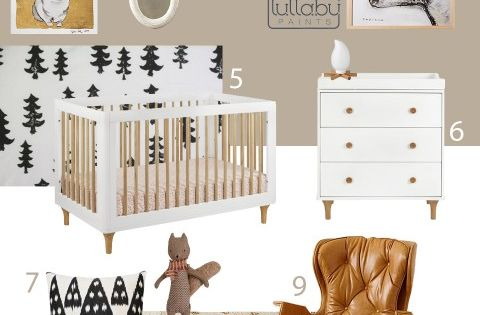 Baby boy nursery- My Modern Nursery 91: Winter Woodland