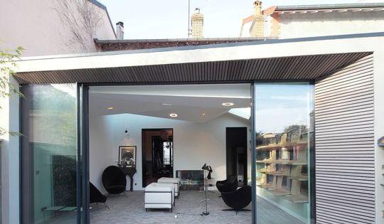 Extension 23m2 maison bois agrandissement maison en for Agrandissement maison 37