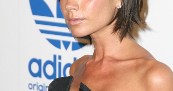 Short hairstyle. Victoria Beckham short hair