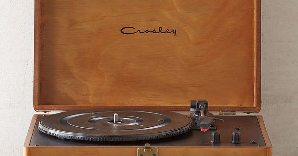 Crosley X Uo Keepsake Wood Portable Usb Vinyl Record