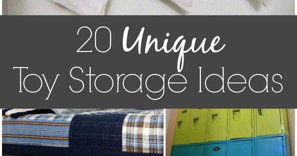20 Unique Toy Storage Ideas Toy Storage