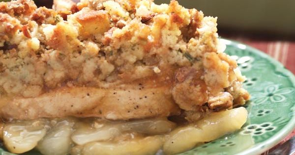 Apple Pork Chop Casserole recipe - Ultimate Comfort Foods slideshow from Gooseberry