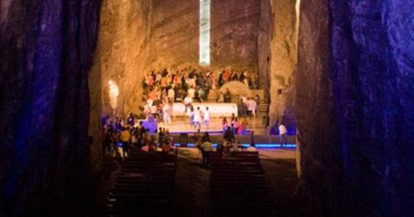 This is the Salt Cathedral it's so much bigger than the original,