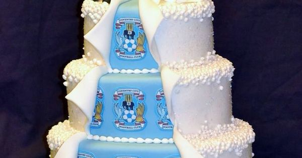 His And Hers Wedding Cake By