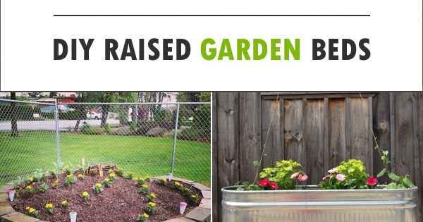 15 Cheap Easy Diy Raised Garden Beds Tr Dg Rdsarbete