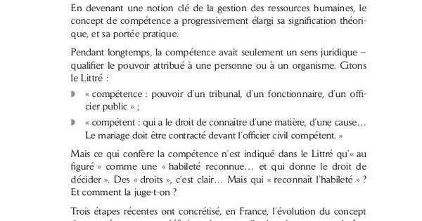 La Gestion Des Competences In 2020 Vie Active This Or That Questions Herzberg