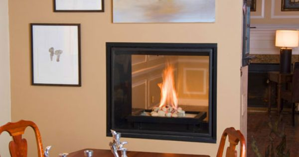 See Through T C Direct Vent Fireplace As Shown At Bromwell S In