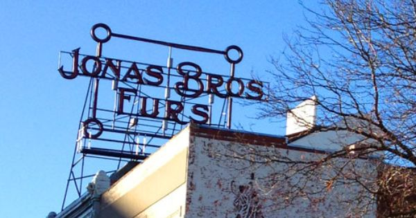 Jonas Bros Furs Ghost Sign In Denver Ghost Signs Ghost Old Signs