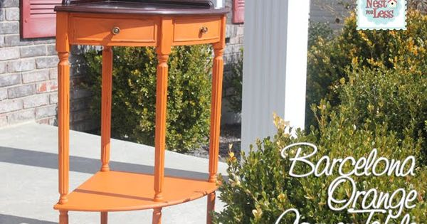 Combest Paint For Home Interior : Barcelona, Orange and Chalk paint colors on Pinterest