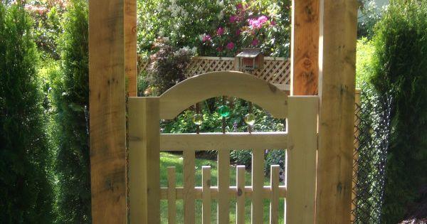 Garden Gate & Pergola - Fine Homebuilding