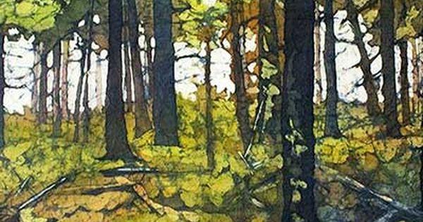 Artist Statement Biography Krista Hasson Watercolor Batik Paintings Oil Landscape Paintings Painting Watercolor Landscape
