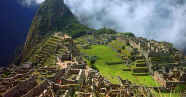Machu Picchu. Peru. South America. On the bucket list.