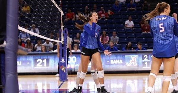 Campus Connect Tulsa Volleyball Player Jaime Rahilly Is Surprised With Volleyball Players Volleyball News Campus Connect