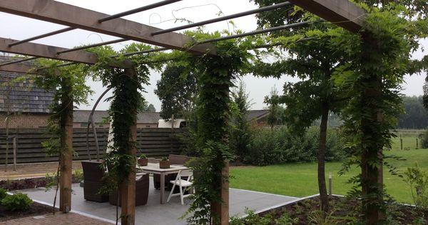 Pin van gerald helsen op helsen tuinen pinterest tuinen tuin en inspiratie - Eigentijds pergola design ...