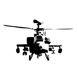 Apache Helicopter Stencil Military Drawings Silhouette Stencil Military Artwork
