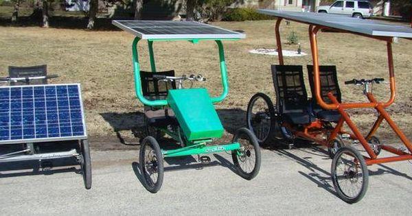 Sun E Trike Solar Recumbent Trike The New Electric Solar Bike Solar Electric Electric Tricycle Solar Car