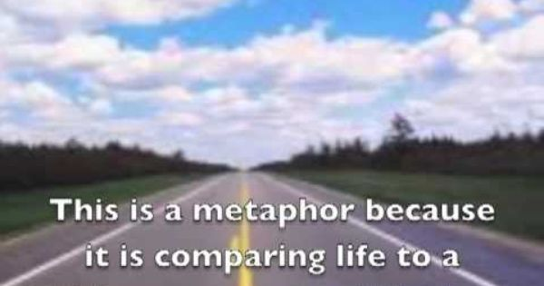 I have to write a philosophy paper. Use writing in a metaphor.?