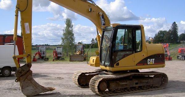 Overhead Cranes Vancouver Bc : Caterpillar gr?vmaskin excavators cat excavator