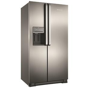 Refrigerador Brastemp Side By Brs62cr Side Ativ Eletrodomesticos Geladeira Side By Side Loja De Eletronicos