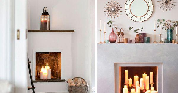 Ideas para decorar chimeneas en desuso casita playa - Chimeneas para decorar ...