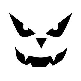 jack o lantern template free  jack o lantern stencils | Free Halloween Stencils to Print ...