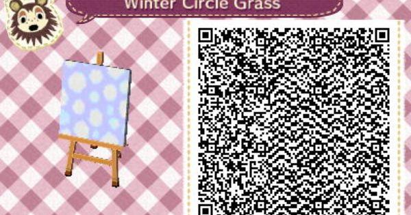 winter variation of circle grass animal crossing new leaf. Black Bedroom Furniture Sets. Home Design Ideas