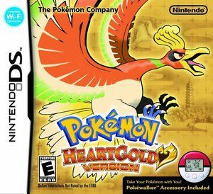 Pokemon Heartgold Version Nintendo Ds Game Includes Original Nintendo Ds Game Cartridge And May Include Case And Manual Pokemon Heart Gold Ds Games Pokemon