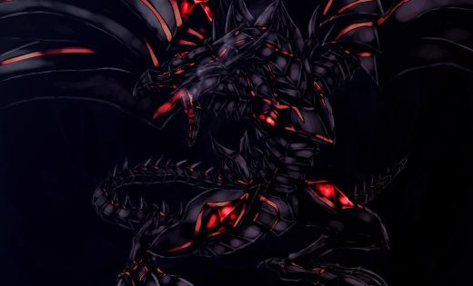10 Awesome Fan Artworks Of The Most Famous Yu Gi Oh Cards Black Dragon Dragon Images Shadow Wolf