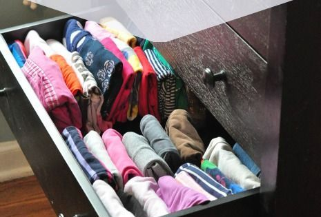 The Best Way To Fold And Organize Kids 39 Clothes Kids