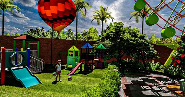 2020 Lمنتزه ترفيهي Park Theme Park Outdoor