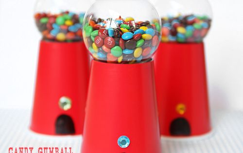 Candy Gumball Machine – DIY Party Idea