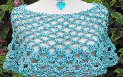 Free Crochet Patterns Directory : Crochet Pattern Central - Free Poncho Crochet Pattern Link ...