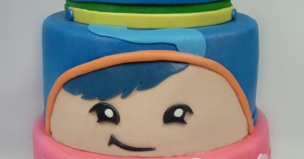 Outstanding Team Umizoomi Birthday Cake I Have To Make This Kids At Personalised Birthday Cards Arneslily Jamesorg