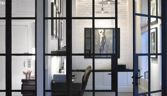 Puertas de hierro para separar ambientes perfecto para - Puertas correderas para separar ambientes ...