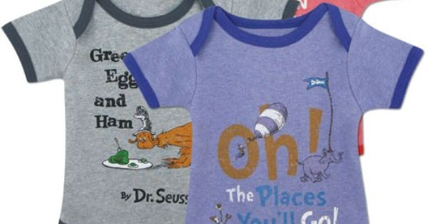 dr seuss onesies Cute Baby Clothes Pinterest