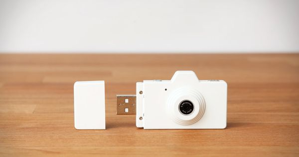 Superheadz Clap Camera: shoots 2 megapixel photos straight into the USB memory