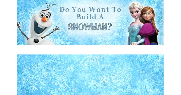 Critical image pertaining to do you want to build a snowman printable