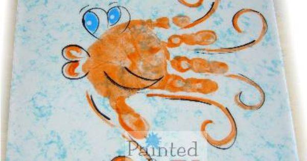 fish hand print ccsa photo share | Hand & Foot Print ...