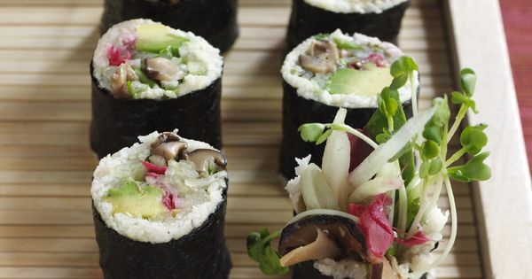 Plum Blossom Sushi Roll Recipe — Dishmaps