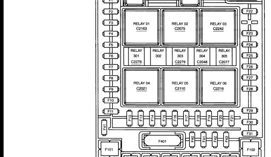 2005 f150 ford fuse panel diagram use your dvom and see. Black Bedroom Furniture Sets. Home Design Ideas