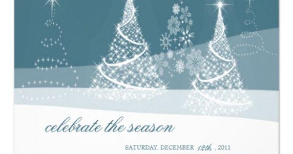 Christmas Holiday Party Invitations