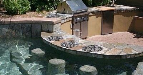 Swim Up Book Outdoor Kitchen Bar And Barbecue Area Ideas For Our Home Pinterest Outdoor