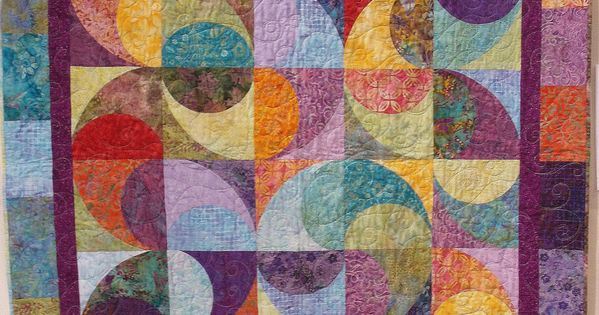 African Themed Quilts Batiks In Motion 50 X 58 By