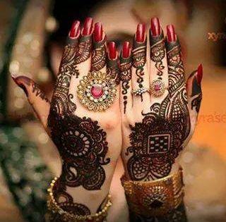 نقش حناء خليجي سهل لكل الأفراح للعرايس سيدات مصر Mehndi Designs Dulhan Mehndi Designs Mehndi Designs For Hands