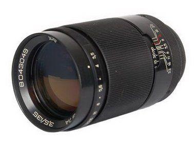Jupiter-37A 135mm F3.5 Russian Portrait Lens for Pentax